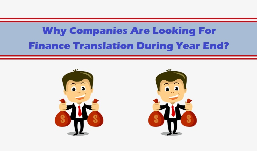 Finance Translation During Year End